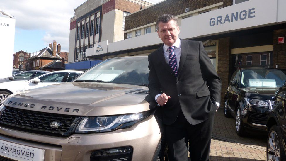 Mark Lavery, chief executive of Cambria Automobiles