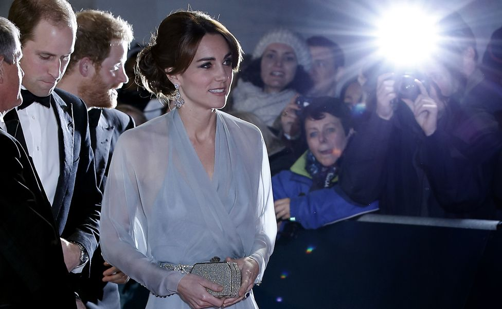 The Duke and Duchess of Cambridge arrive at the Spectre premiere