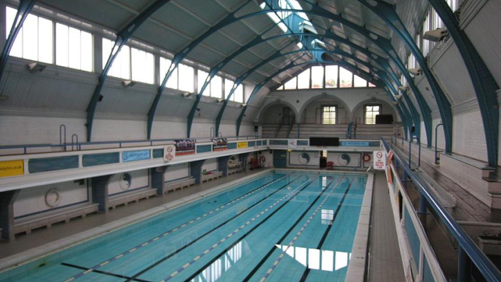 Swimming baths