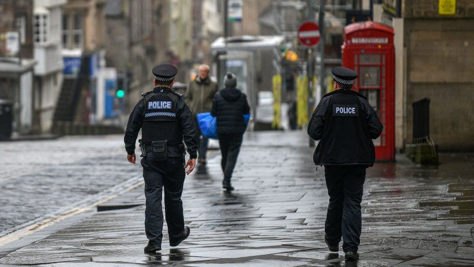 Police in Edinburgh