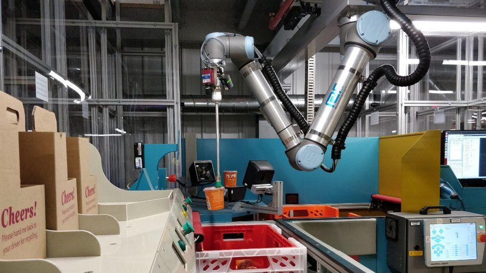 Ocado pick robot