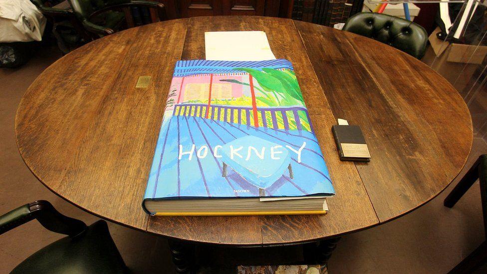 """David Hockney's """"A Bigger Book"""""""