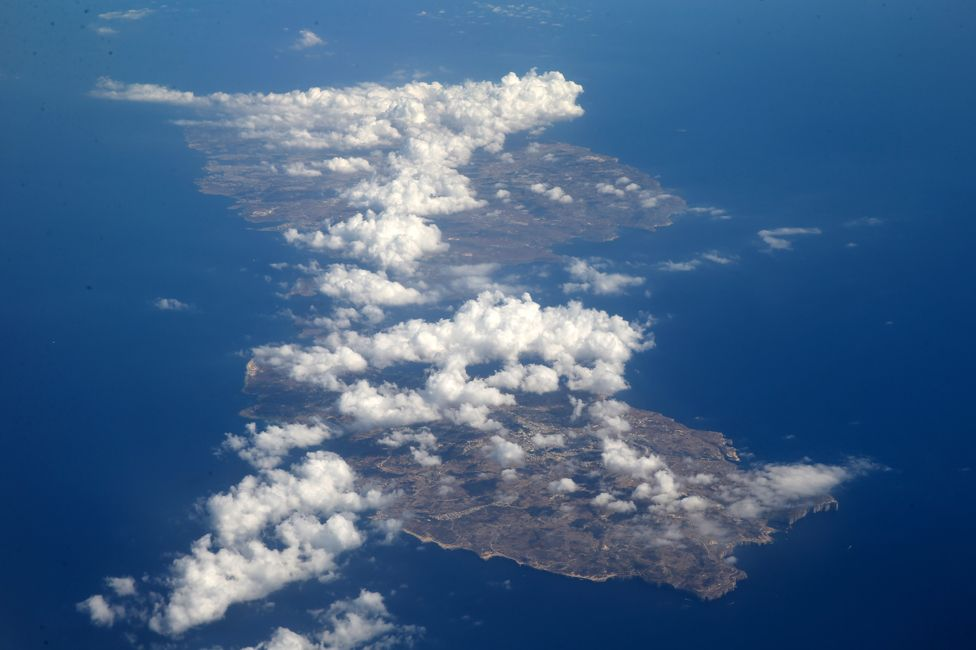 Malta from the sky