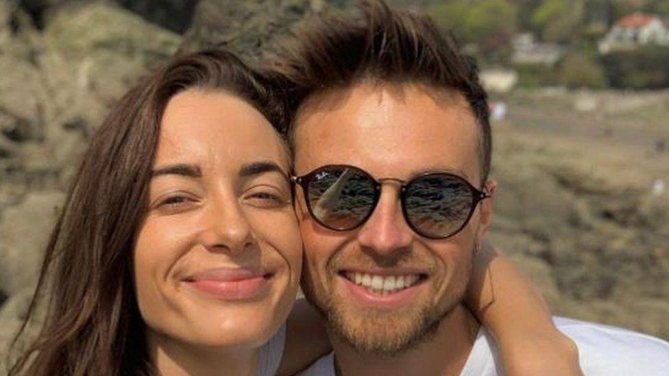 Emily Hartridge and Jake Hazell