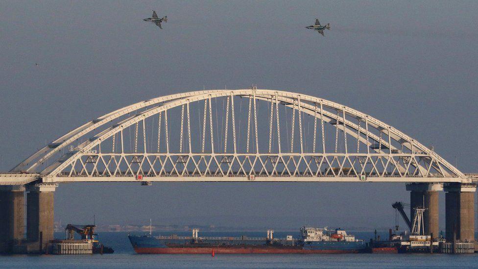 Kerch bridge, 25 Nov 18