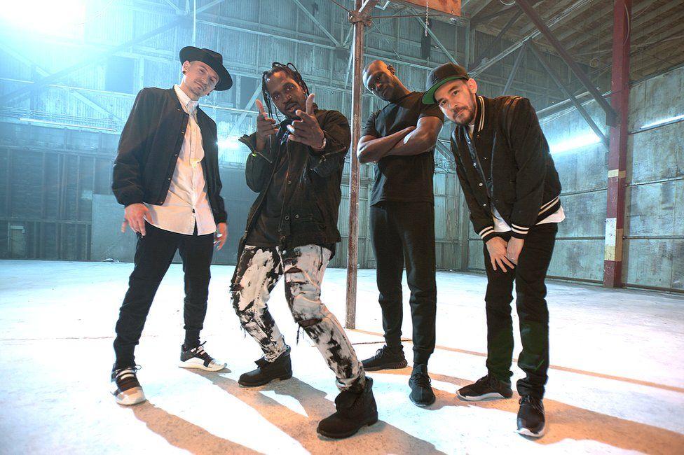 Chester Bennington, Pusha T, Stormzy and Mike Mike Shinoda