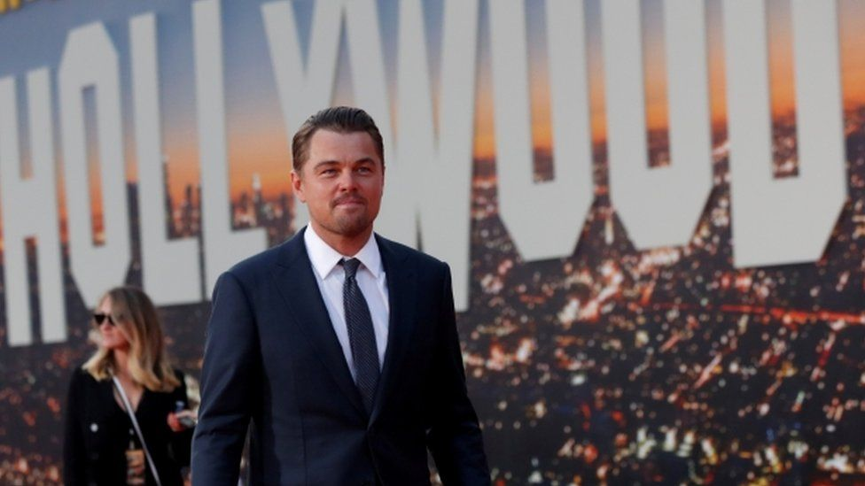 Leonardo DiCaprio attends the premiere of Once Upon a Time In Hollywood, 22 July
