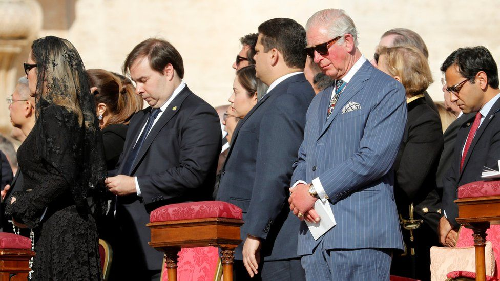 Prince Charles at the service