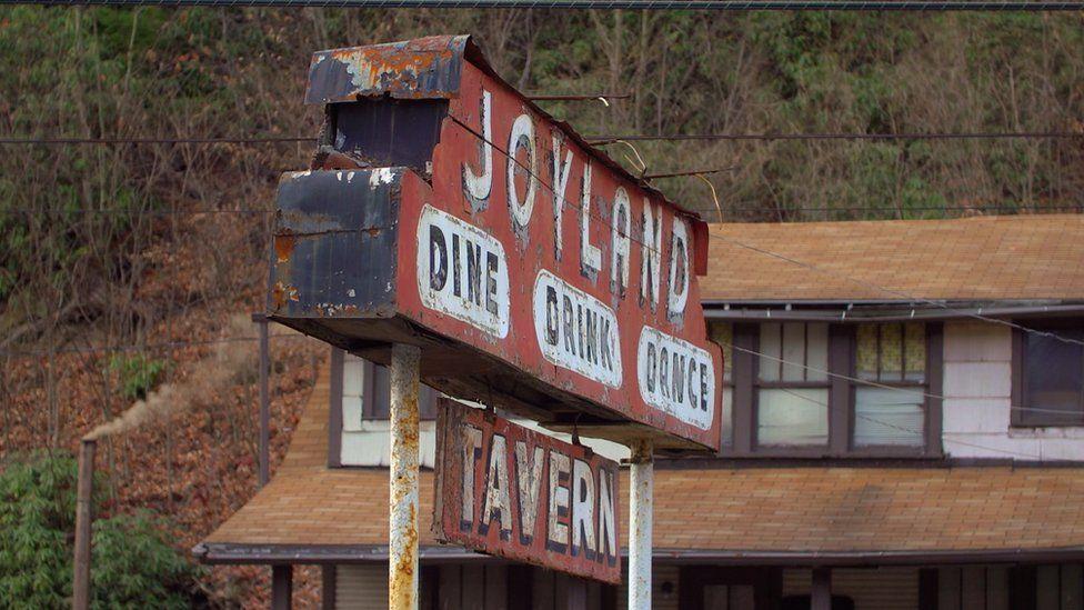 Joyland sign