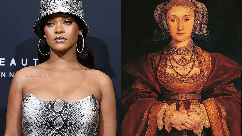 Rihanna and Anne of Cleves