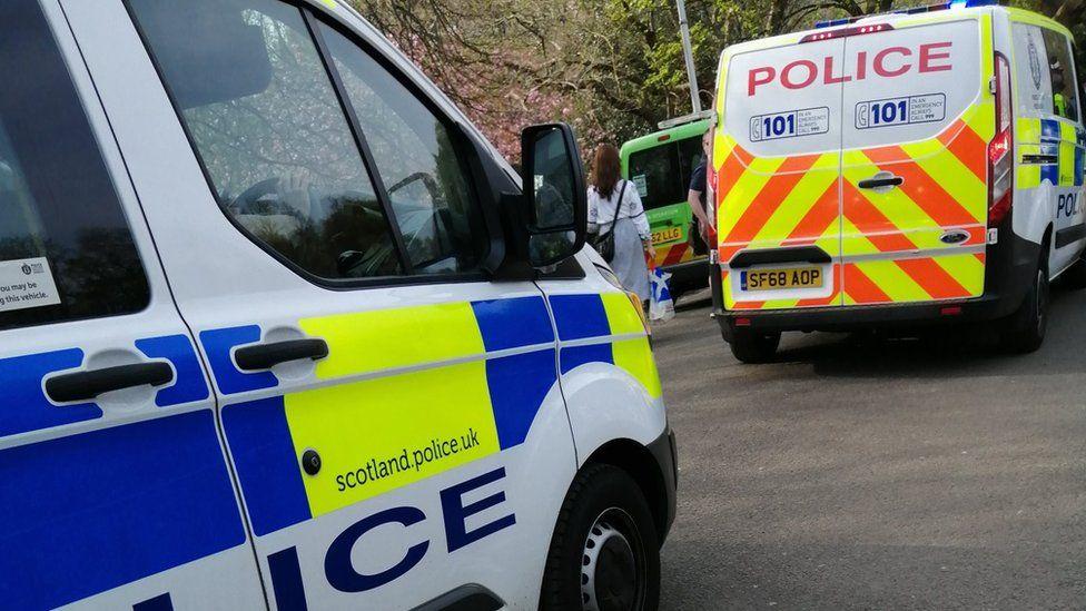Police at Kelvingrove