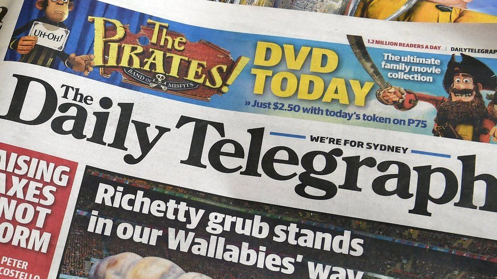 Edition of the Sydney Daily Telegraph