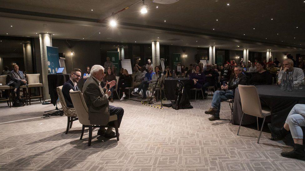Sir David Attenborough addresses Citizen's Assembly