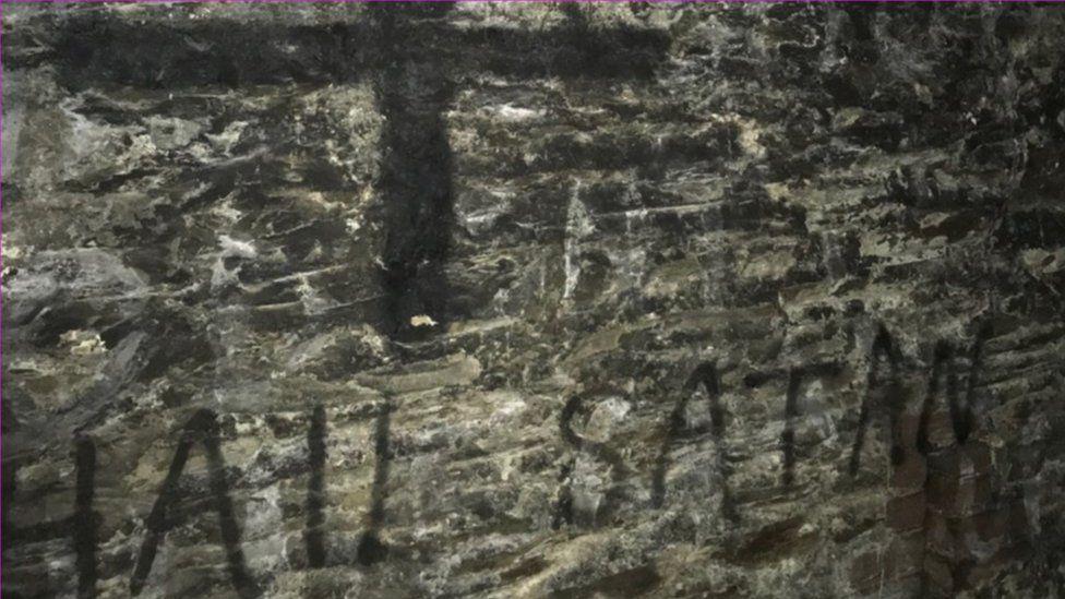 Symbols drawn at Fort Austin
