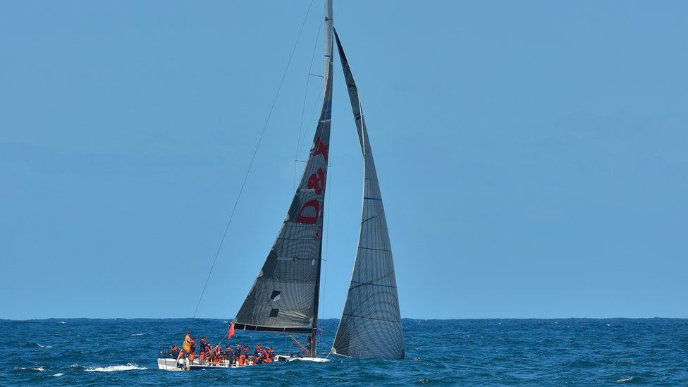 Some 91 boats will compete in the 630 nautical mile (1166km) race