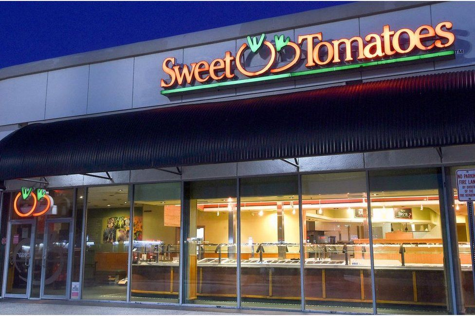 Sweet Tomato, a chain which specialised in healthy foods, went out of business in May