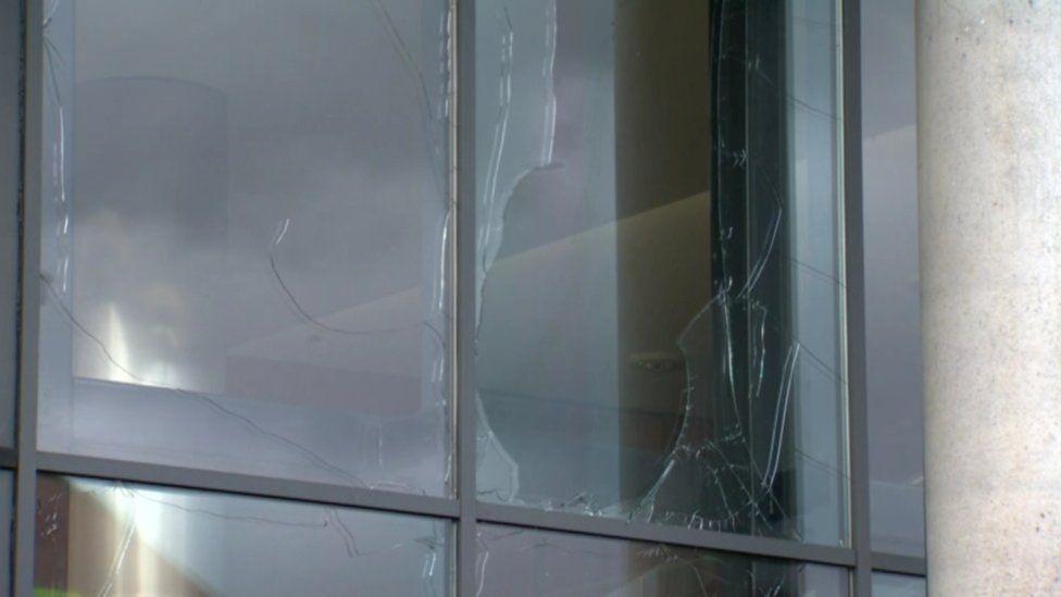 damage to windows