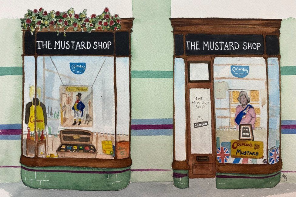 The Mustard Shop by Nick Chinnery