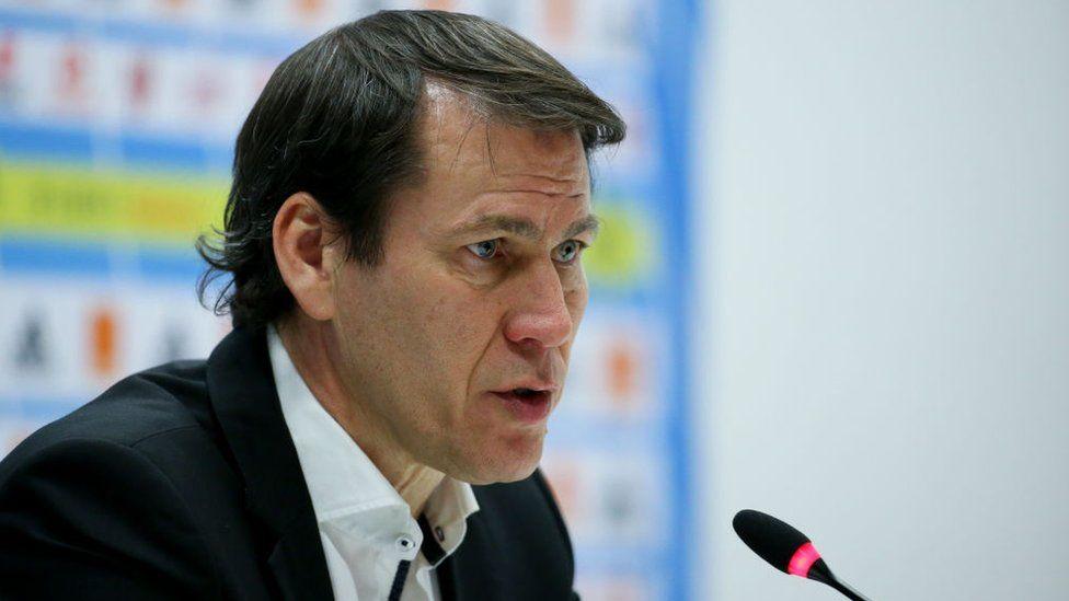 Rudi Garcia, nouvel entraîneur de Lyon