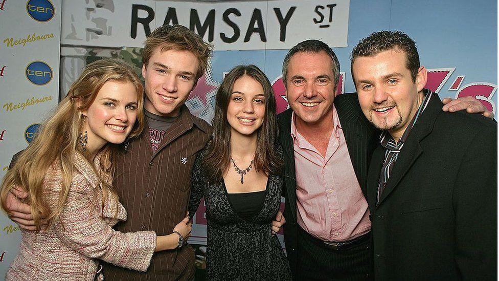 Cast members of Neighbours