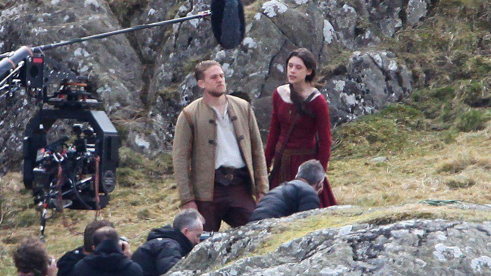 Filming of King Arthur