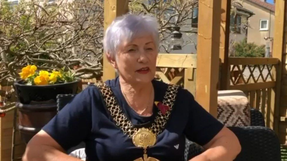 Lord Mayor of Bradford Doreen Lee