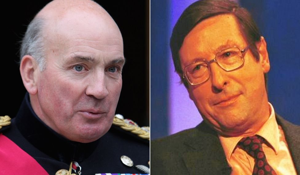 Composite image showing Lord Dannatt, left, and Max Hastings