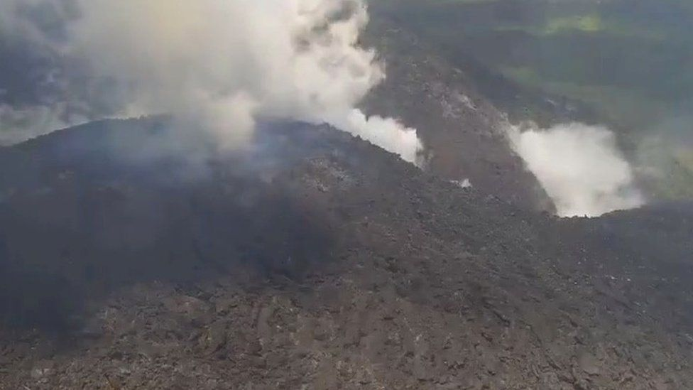 Ashfall from La Soufriere volcano can affect Barbados, St Lucia