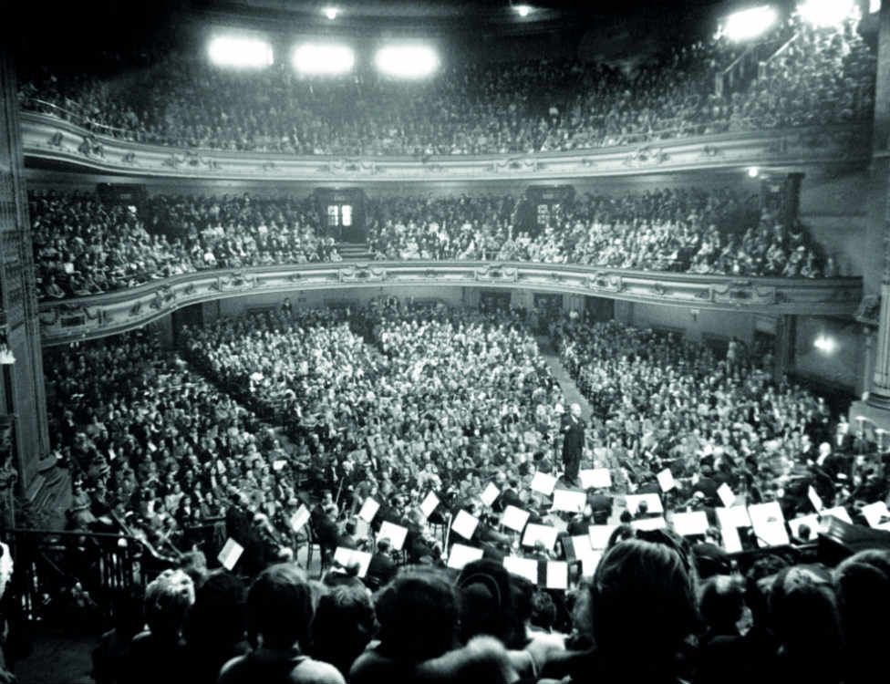 The Vienna Philharmonic Orchestra conducted by Bruno Walter, 1947 © Paul Shillabeer's daughter Pauline Grierson.jpg