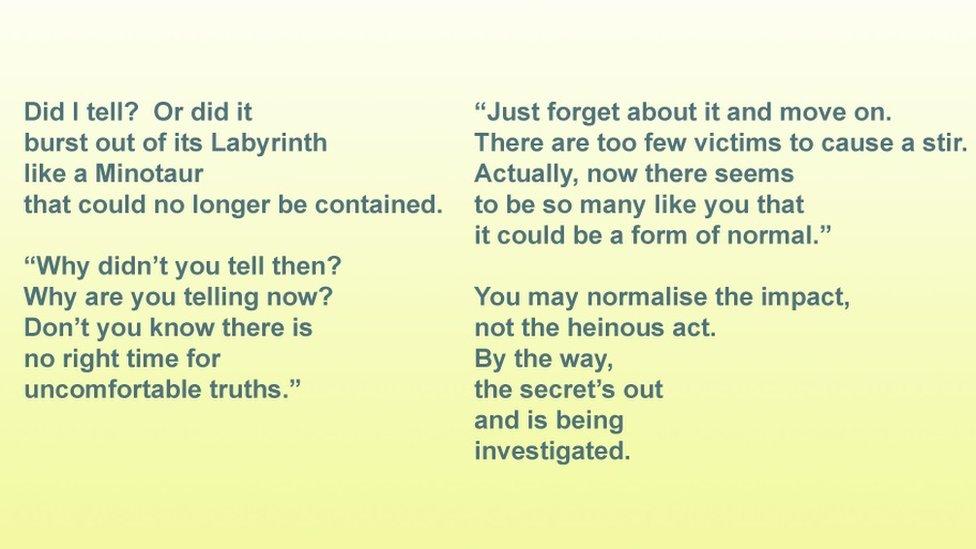 Poem Secret - copyright of Ruby