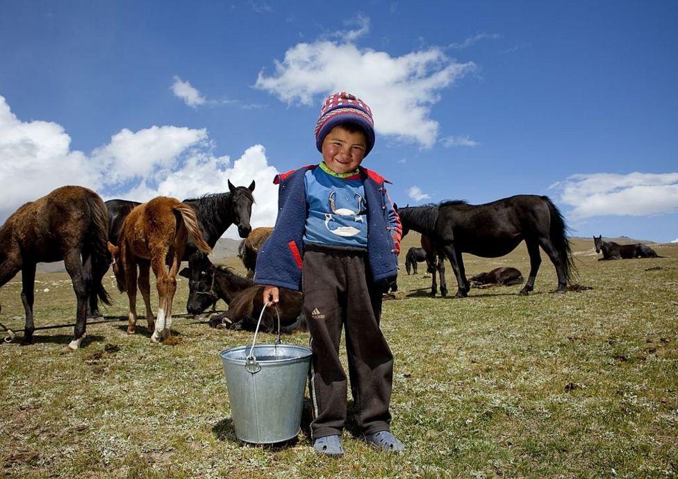 Ребенок в Кыргызстане