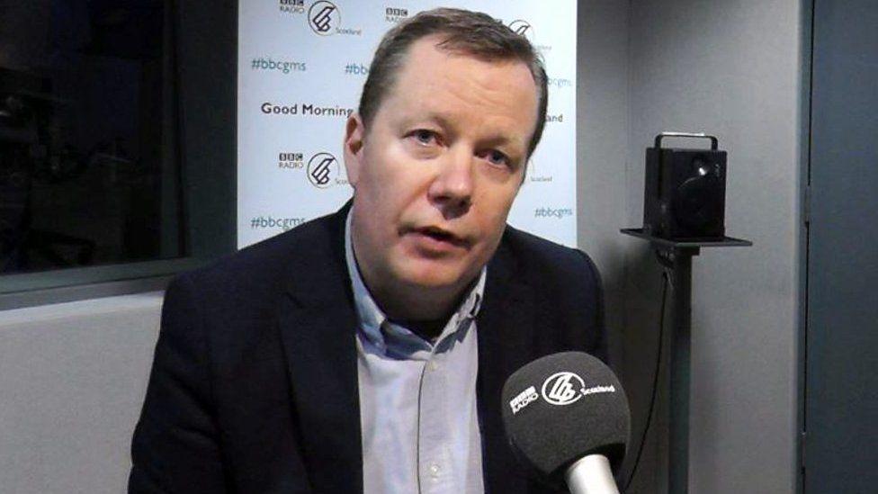 Jason Leitch, Scotland's national clinical director,