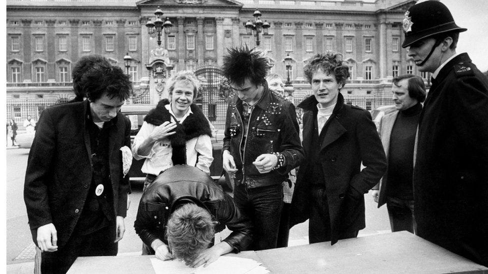 Sex Pistols and Malcolm McLaren