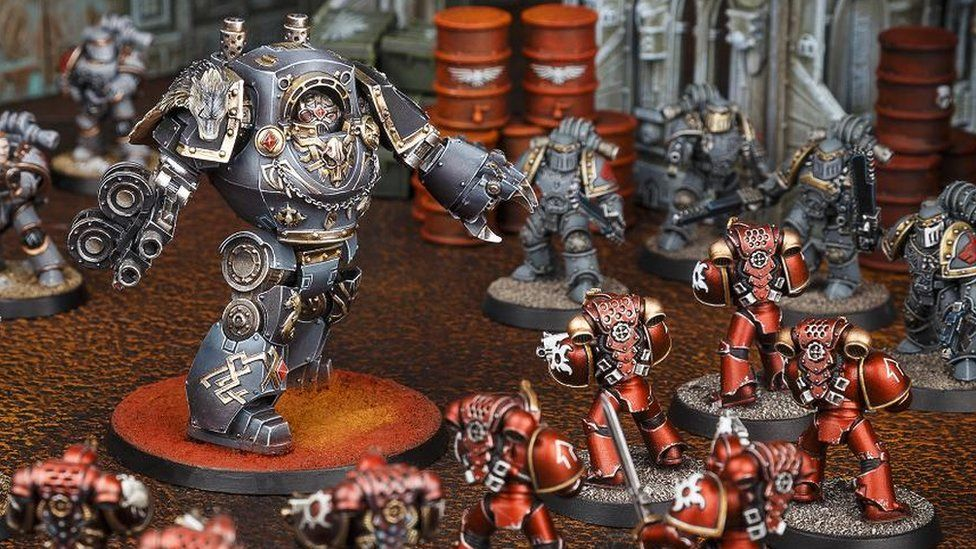 Games Workshop sells Warhammer figures around the world