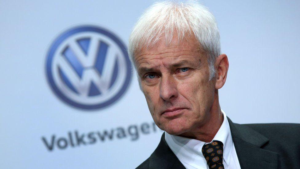 Matthias Mueller of VW