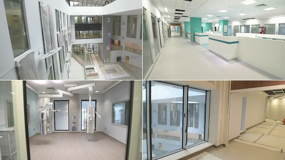 Interior of Royal Liverpool University Hospital