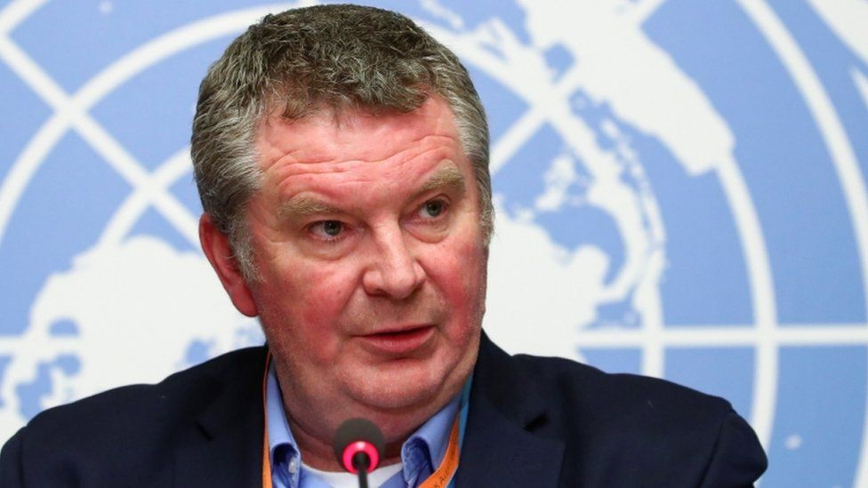 Michael J. Ryan, Executive Director of the World Health Organization (WHO) Health Emergencies Programme