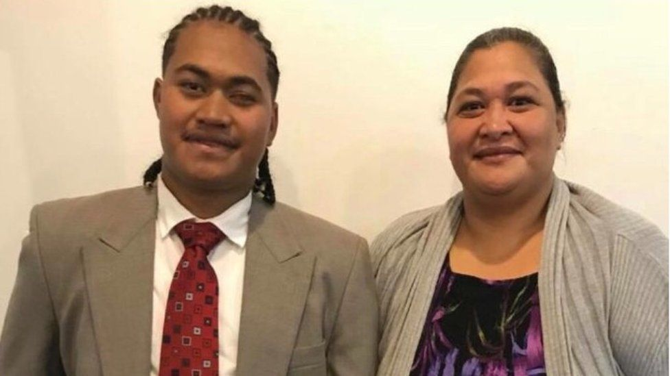 Amanaki and his mother Lia