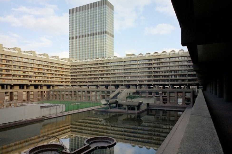 Wide view of Barbican