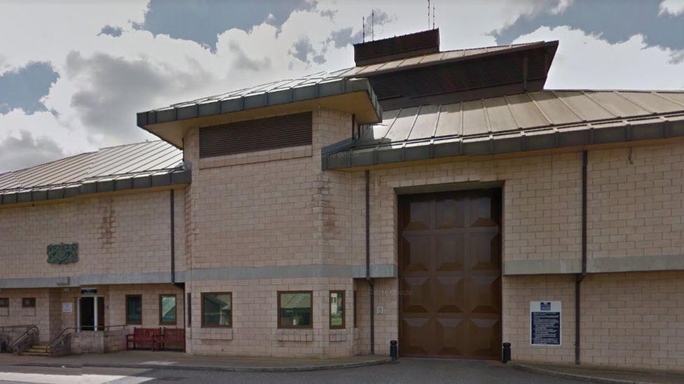 High Down Prison near Banstead, Surrey