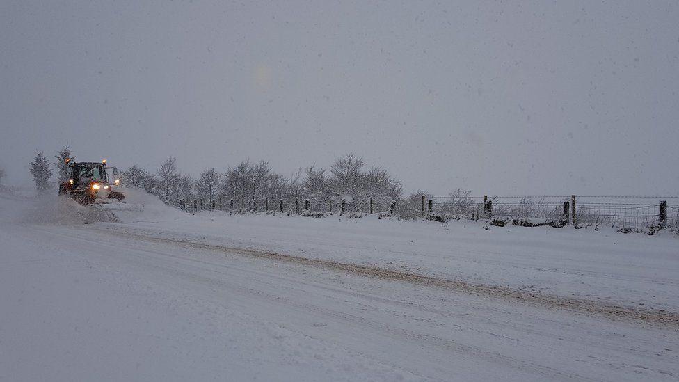 A snow plough