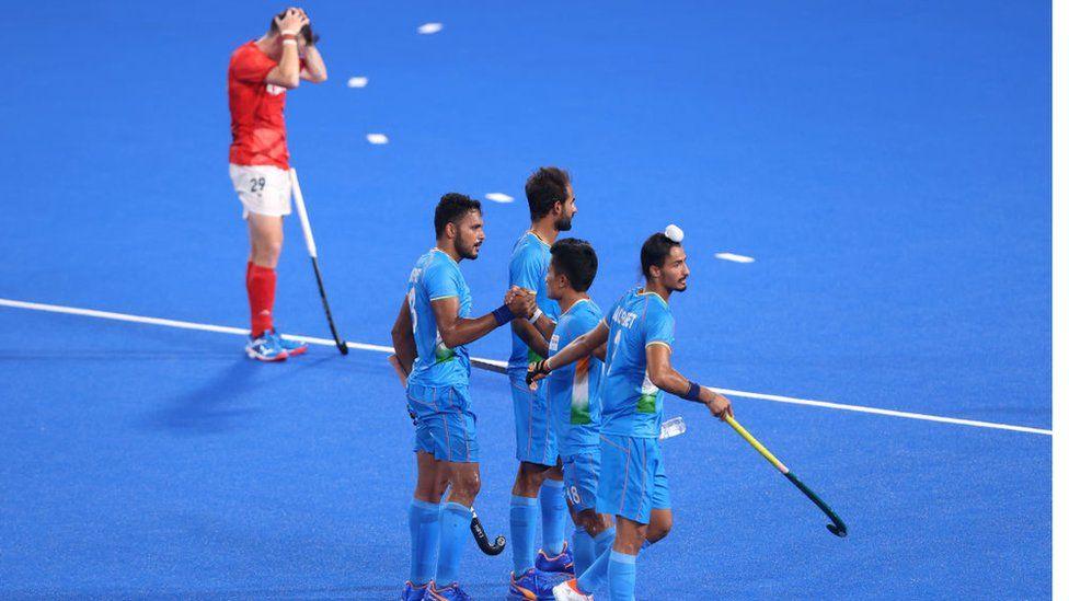 The Indian men's hockey team