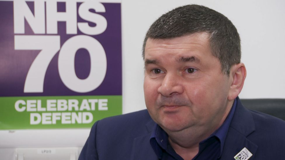 Tom Waterson, chair of Unison's Scottish health committee