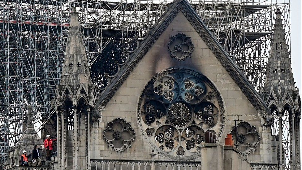 Notre-Dame blaze 'déjà vu' for Glasgow School of Art