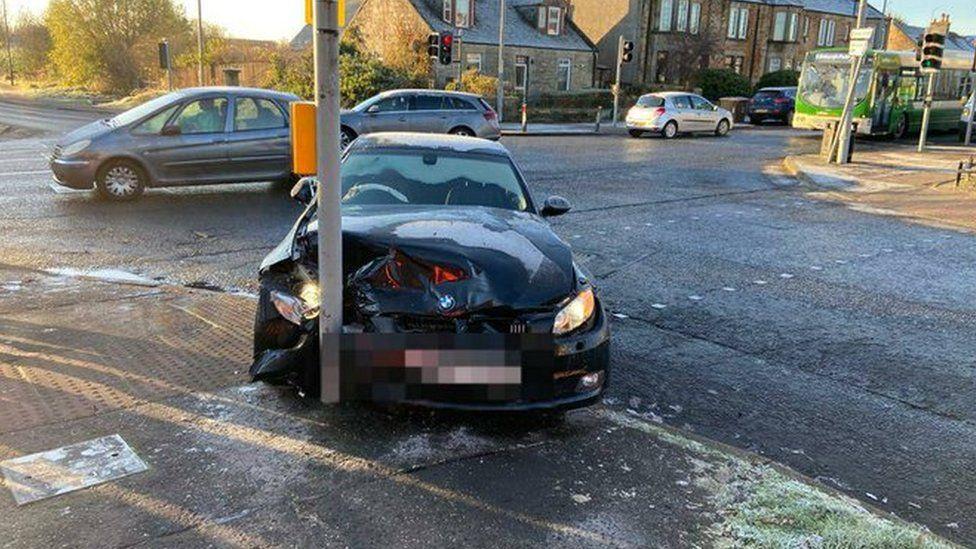 West Lothian crash