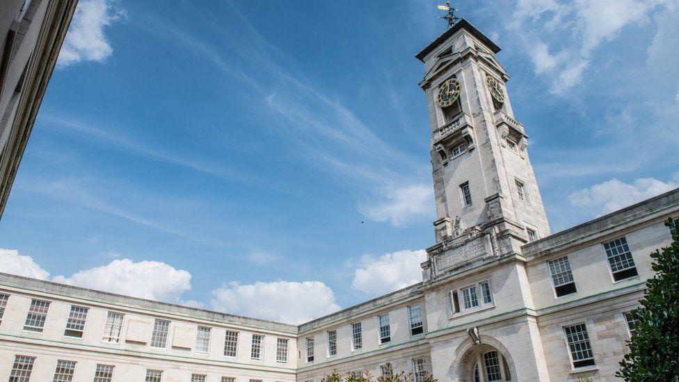Trent building at the University of Nottingham