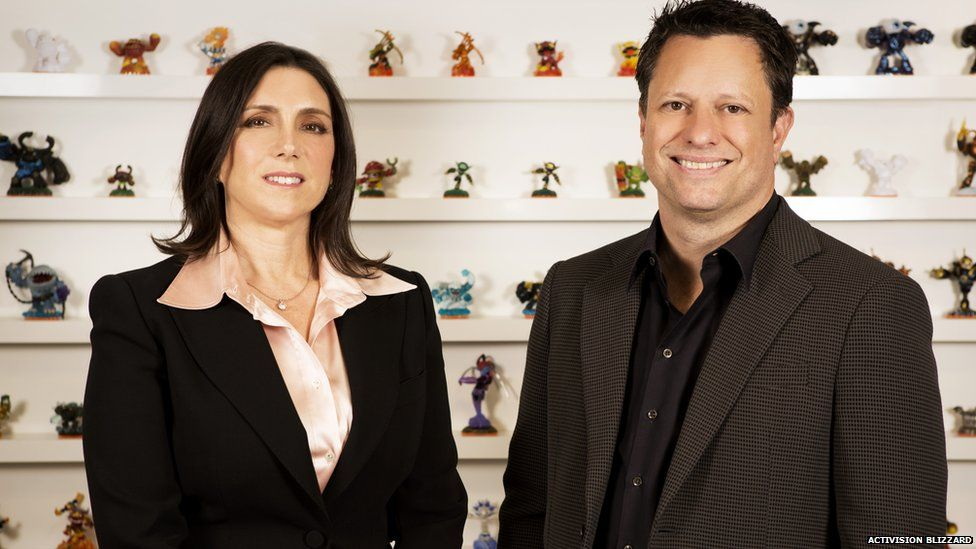 Stacey Sher and Nick Van Dyk from Activision Blizzard