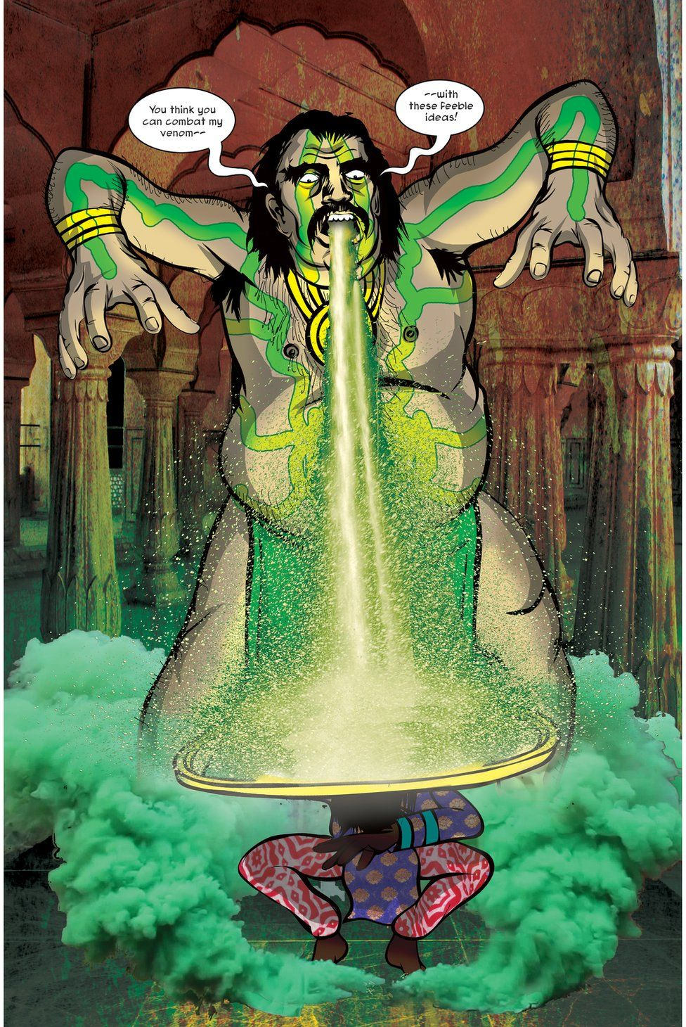 Ahankar the villain