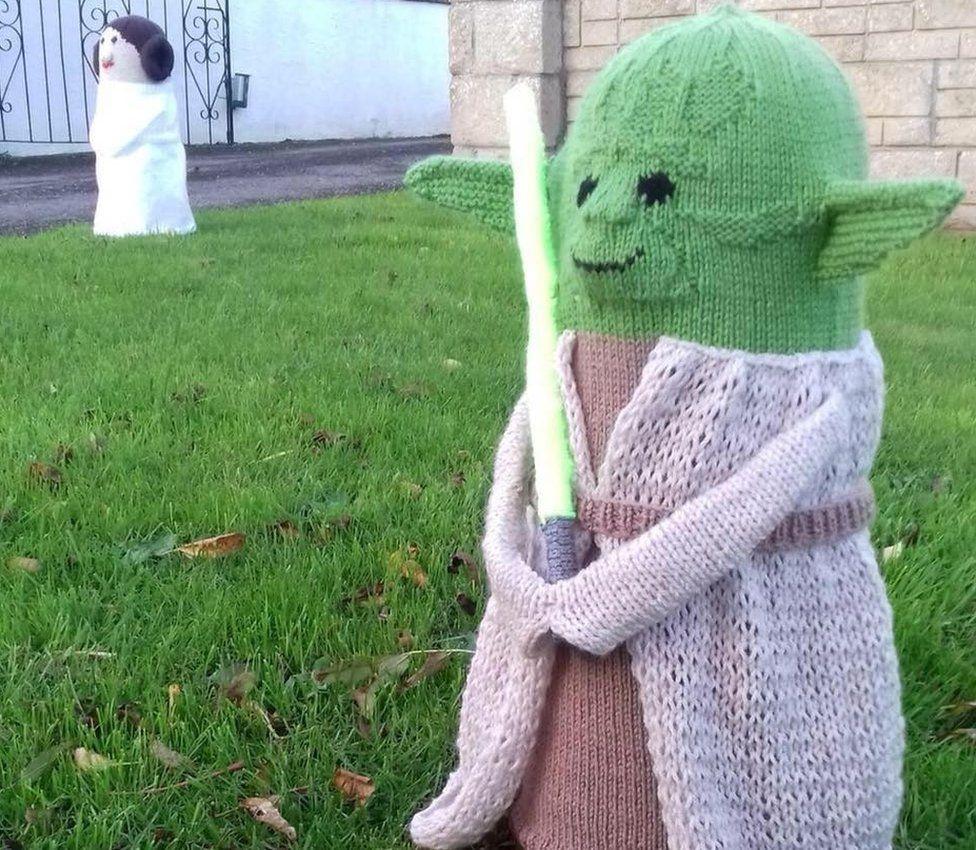 Princess Leia and Yoda