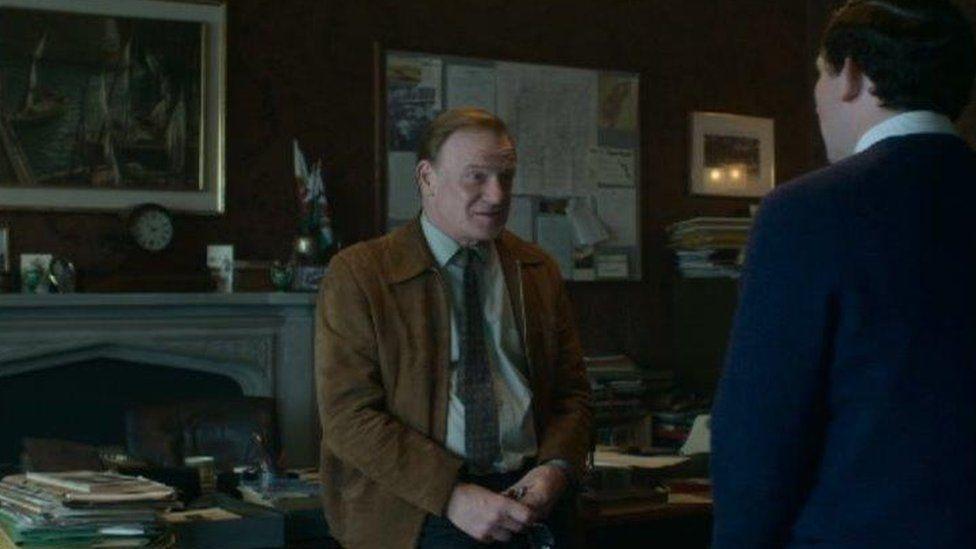 Mark Lewis Jones plays Dr Tedi Millward